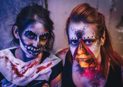 Halloweeni fantaasiameik